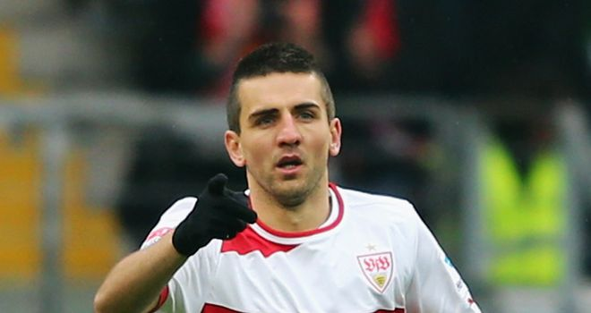 Vedad Ibisevic: Opened the scoring in comfortable Stuttgart win