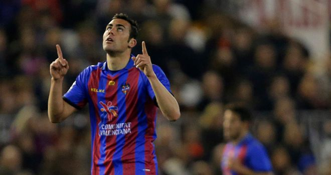 Vicente Iborra: Scored the opener for Levante