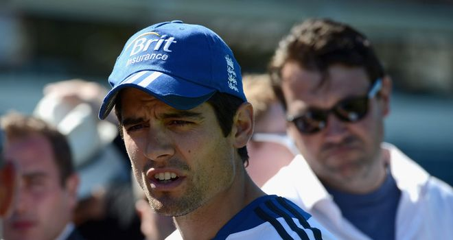 Alastair Cook has asked England's bowlers to go again in New Zealand