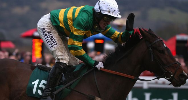 Alderwood: Raises his game at Cheltenham