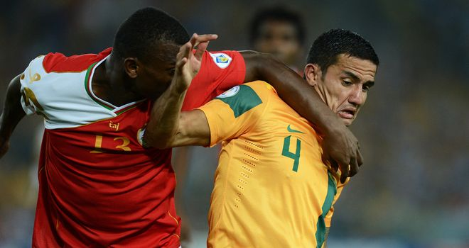 Tim Cahill: On target in Australia win
