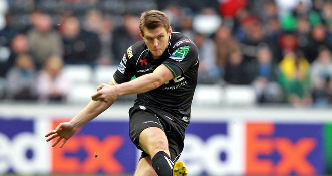 Dan Biggar: 18-point haul for Ospreys