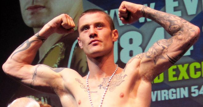 Ricky Burns: Undefeated since losing to Carl Johanneson in a British title fight