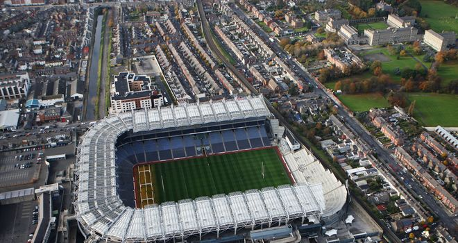 Croke Park: Opened up to 'foreign games' in 2005
