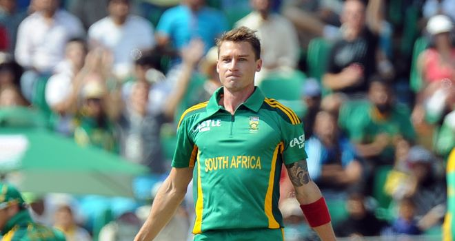 Dale Steyn: A side-strain could rule him out of the tournament opener