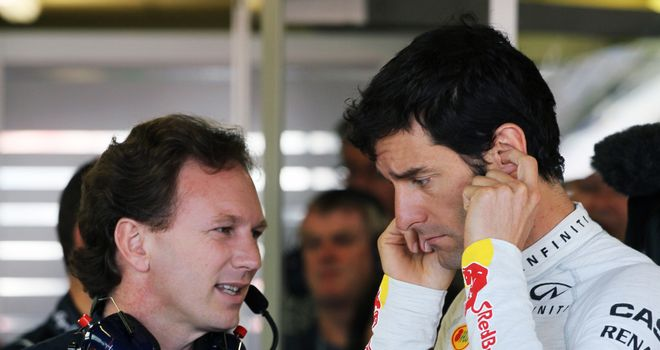 Christian Horner hits out at Mark Webber's 10-place grid penalty