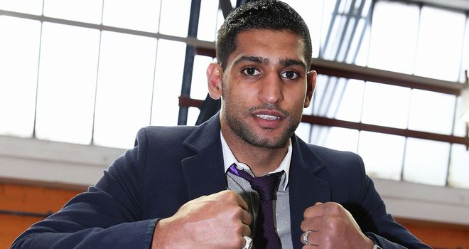 Amir Khan: Targeting top spot in the light-welterweight division
