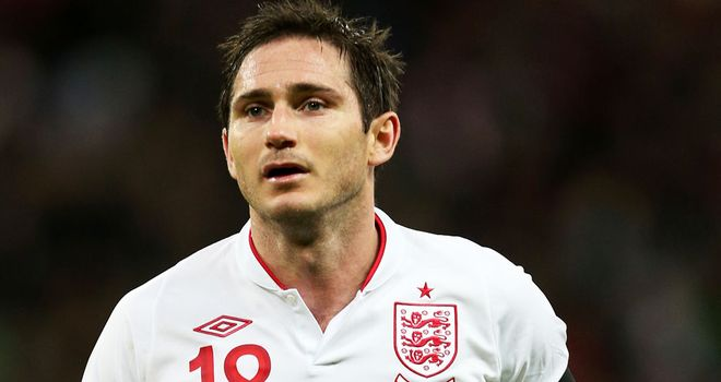 Frank Lampard: Chelsea midfielder comes in for Steven Gerrard against San Marino