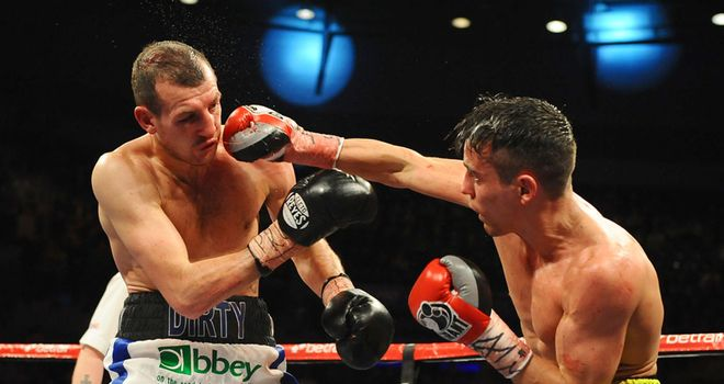 Anthony Crolla (R) needs an even better performance than when he drew with Mathews (Pic leighdawneyphotography.com)