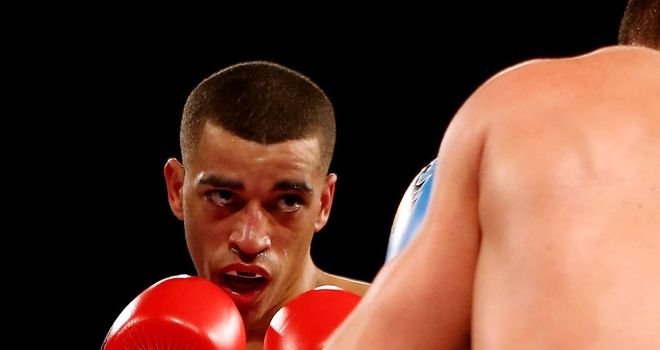Sam Maxwell: A plucky performance from the boxer was not enough to prevent the Lionhearts' defeat