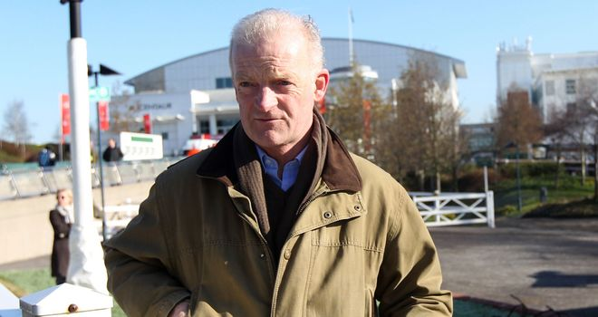 Willie Mullins: A raft of entries in Britain