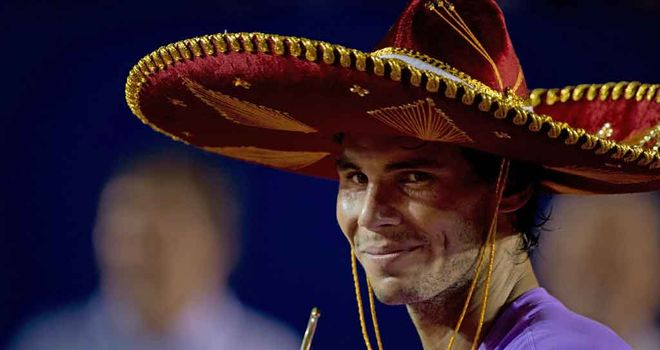Rafa Nadal: Hats the way to do it