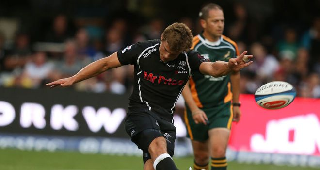 Pat Lambie: impressive kicking display