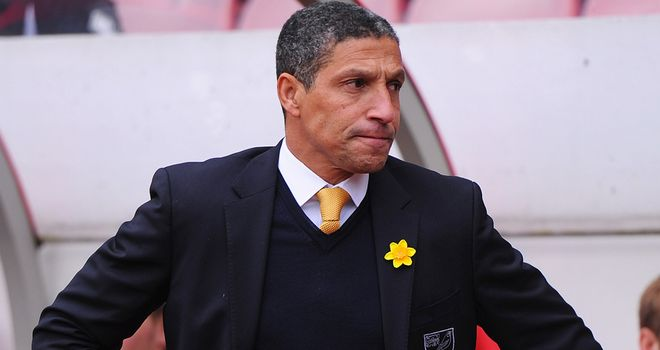 Chris Hughton: Norwich boss hailed his side for Sunderland display