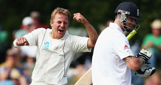 Neil Wagner: dismissed Kevin Pietersen twice in Dunedin