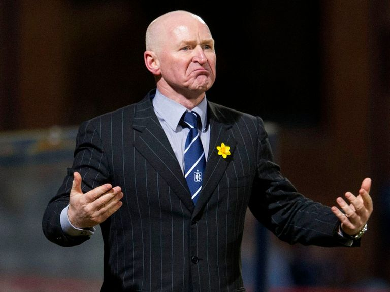 John Brown: Hoping to see Dundee overhaul St Mirren in survival scrap