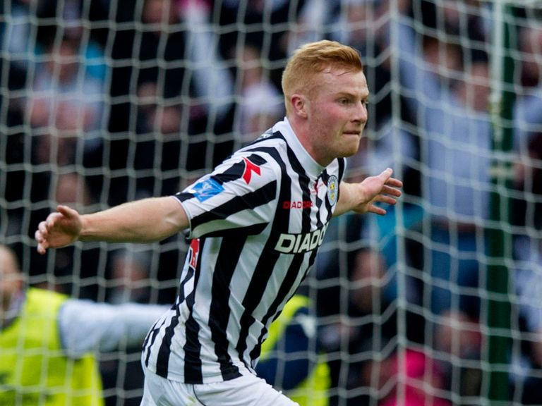 Conor Newton: Impressed against Celtic