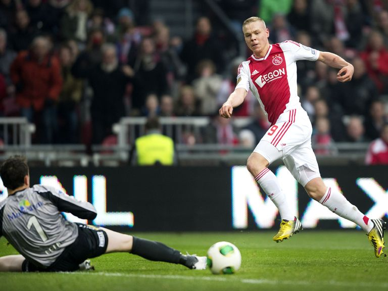 Kolbeinn Sigthorsson: Scored both Ajax's goals against Feyenoord