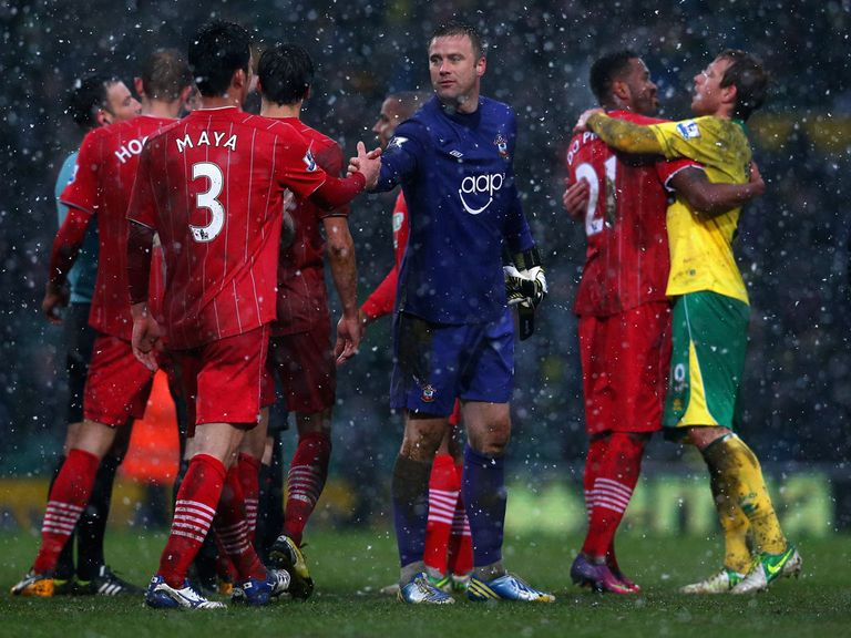 Southampton were furious with Norwich's penalty award