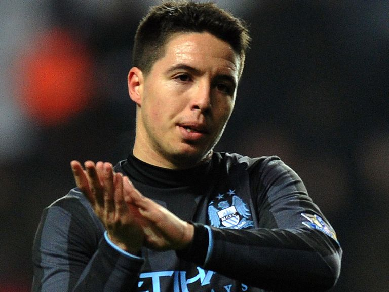 Samir Nasri: Has praised Manuel Pellegrini for his playing style