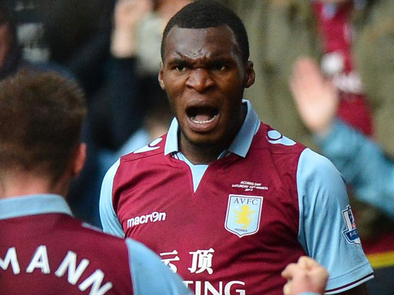 Christian Benteke: Out to repay Paul Lambert's faith in him