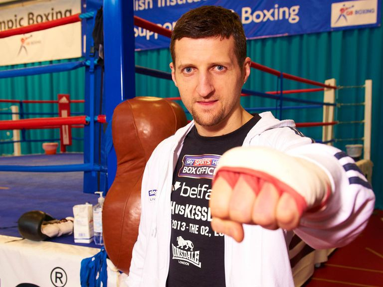 Carl Froch: In the shape of his life