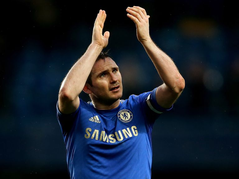 Frank Lampard: Scored in victory over Swansea