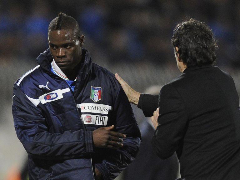 Mario Balotelli: Praised by Cesare Prandelli