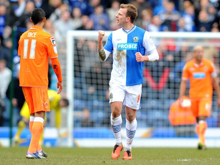 Jordan Rhodes: Sticking with Blackburn