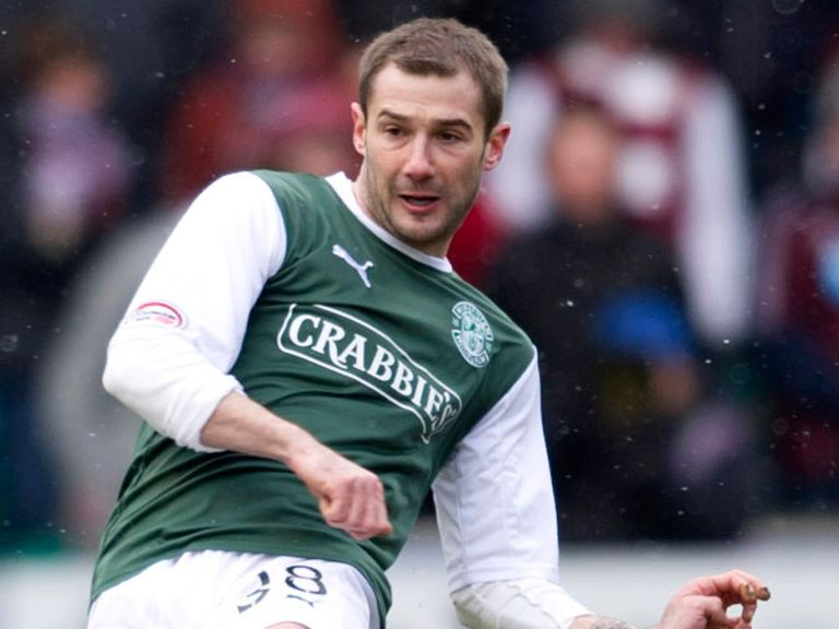 Kevin Thomson: Back in action for Hibernian