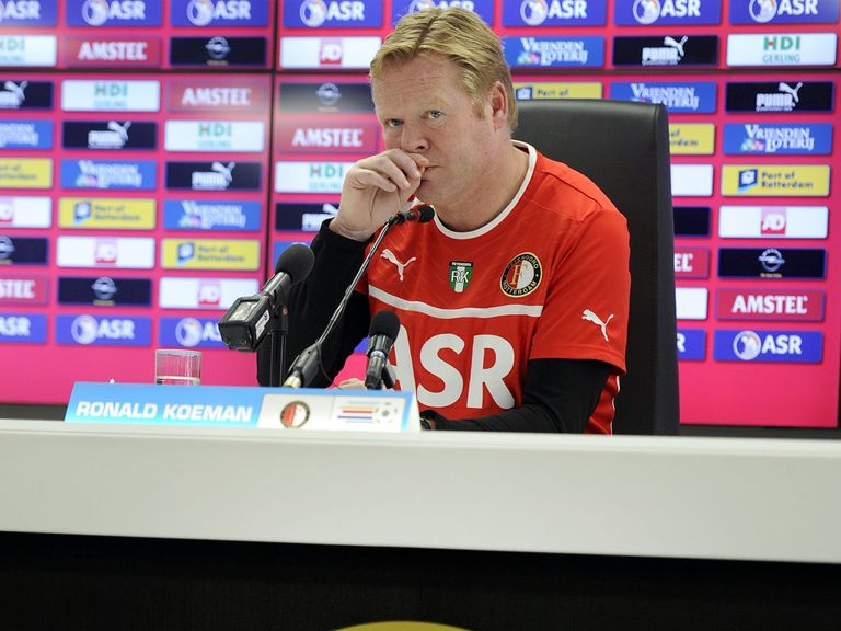 Ronald Koeman's Feyenoord side lost 3-2