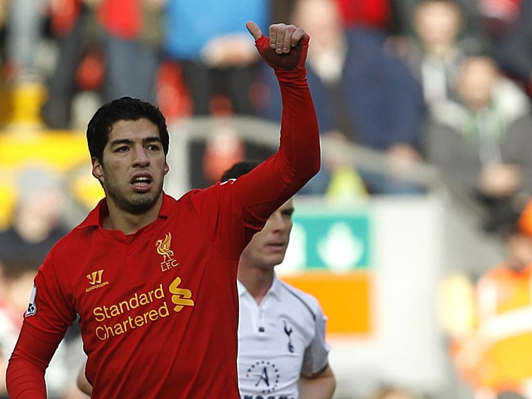 Luis Suarez: Says he will be at Liverpool next season