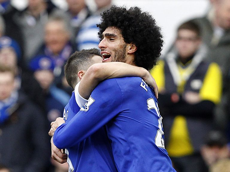 Marouane Fellaini: Happy to stay at Everton