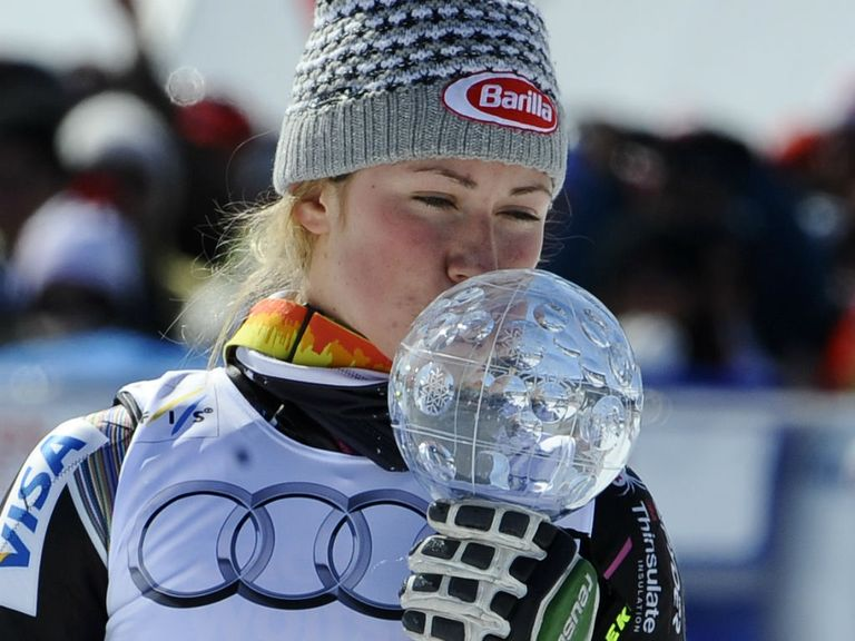 Mikaela Shiffrin: Overhauled Maze to claim the slalom World Cup title