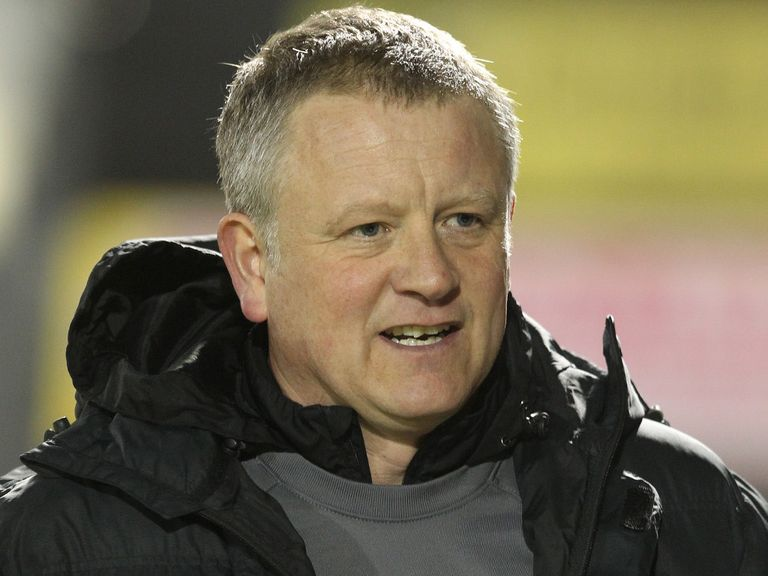 Chris Wilder: Enjoyed last week's win at Hartlepool