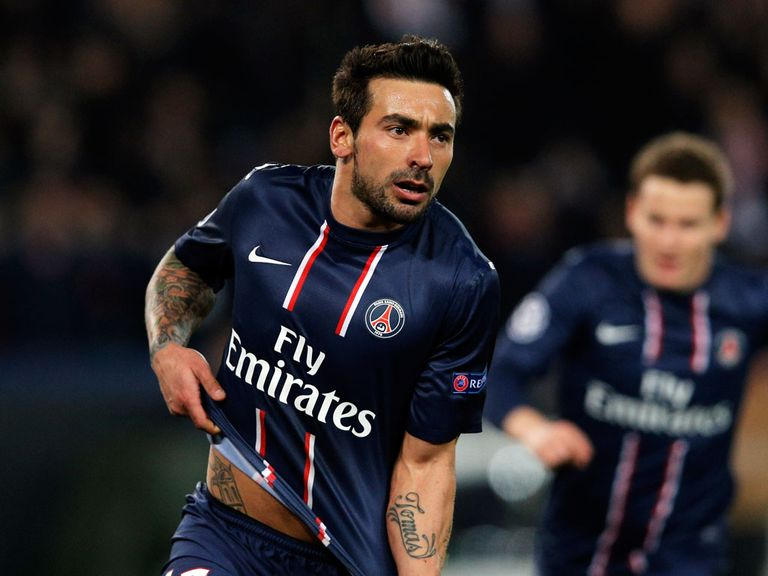 Ezequiel Lavezzi: Good value at 5/1 to find the net