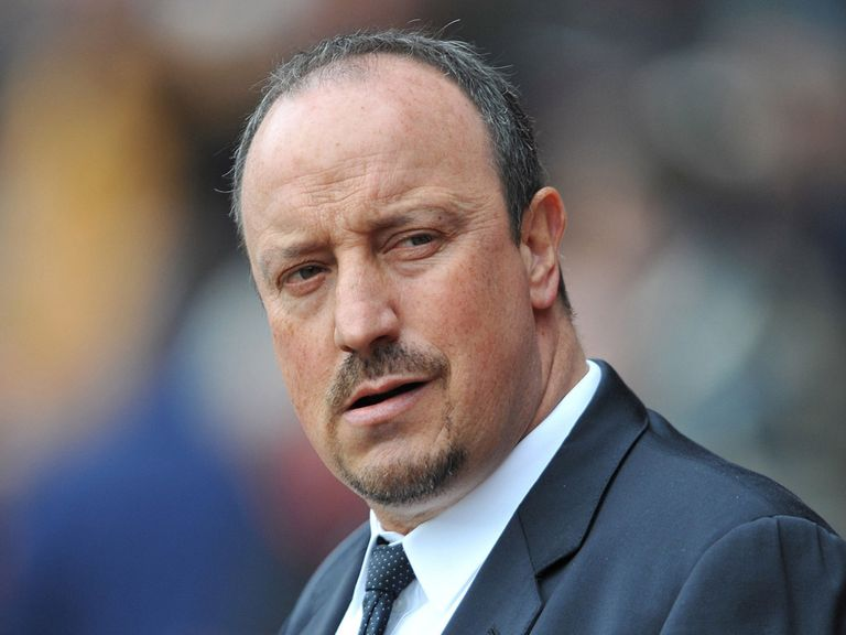 Rafael Benitez: Watched his side lose at Southampton