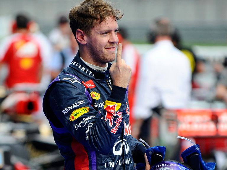 Sebastian Vettel advertised his one-lap pace once more