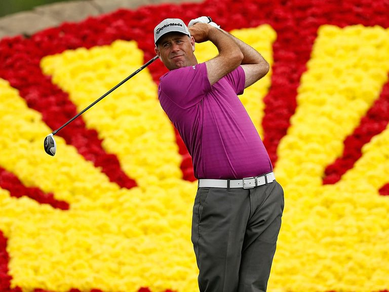 Stewart Cink: Fired a four-under par in the third round