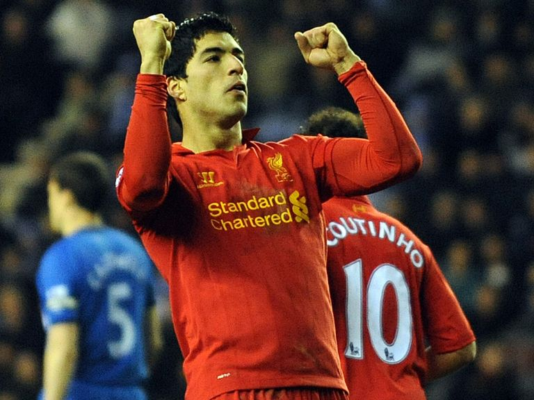 Suarez: Hoping to get the better of Spurs