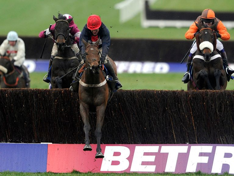 Bobs Worth winning the Cheltenham Gold Cup