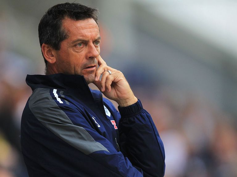 Phil Brown: Out of work since leaving Preston