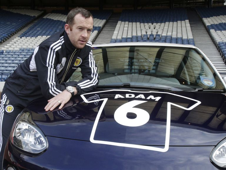 Charlie Adam: Hoping Scotland can drive to victory