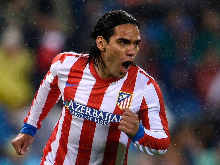 Radamel Falcao: United link denied by Ferguson