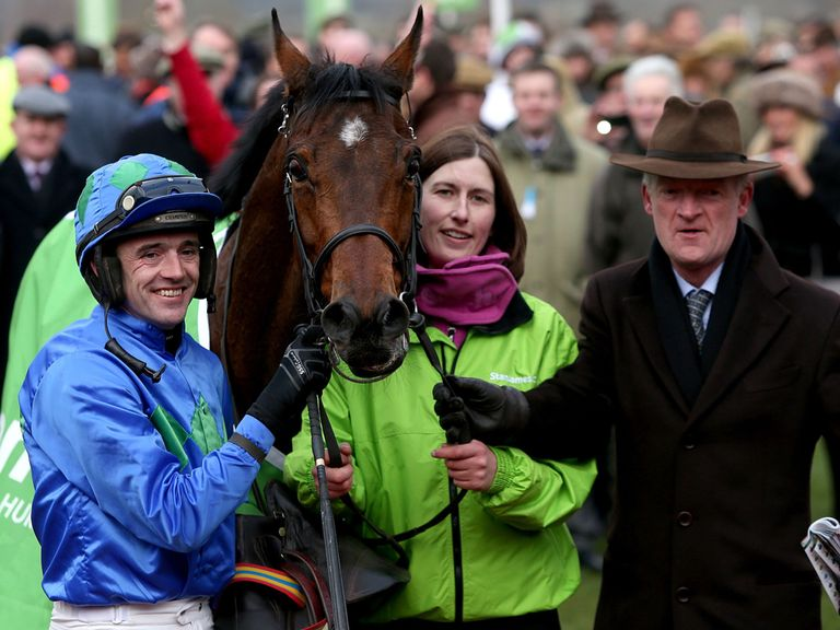 Hurricane Fly after last year's triumph in the Champion Hurdle