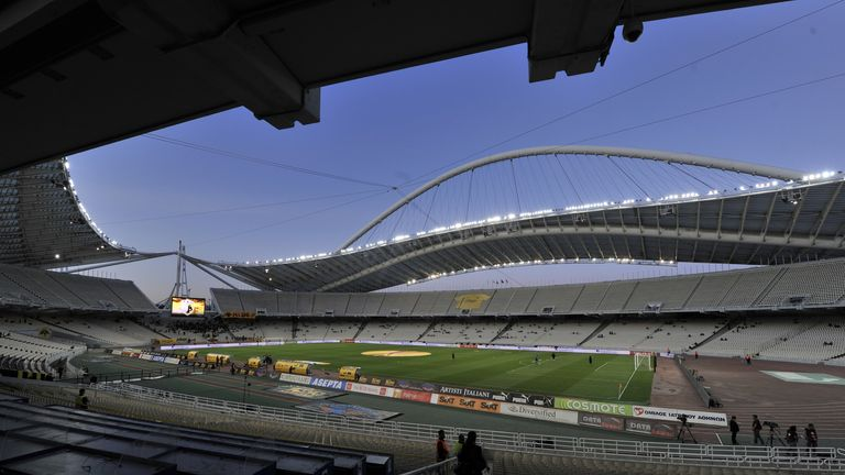 Olympic Stadium: Home of AEK Athens