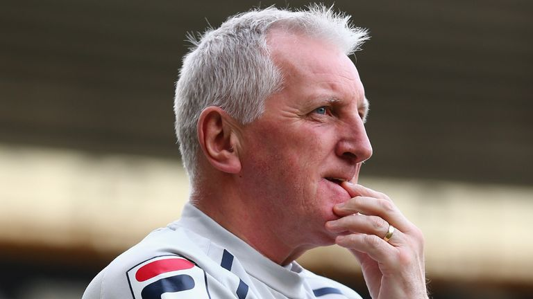 Ronnie Moore: Has goalkeeper decision to make