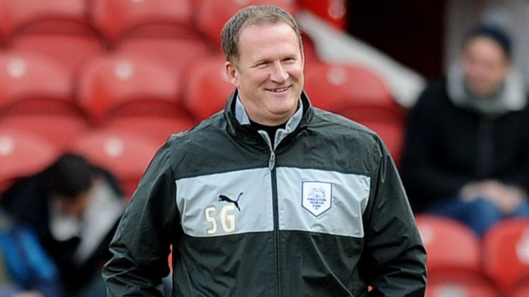 Simon Grayson: Saw his Preston side beat local rivals Blackpool