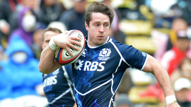 John Houston: Joining the Scotland Sevens set up