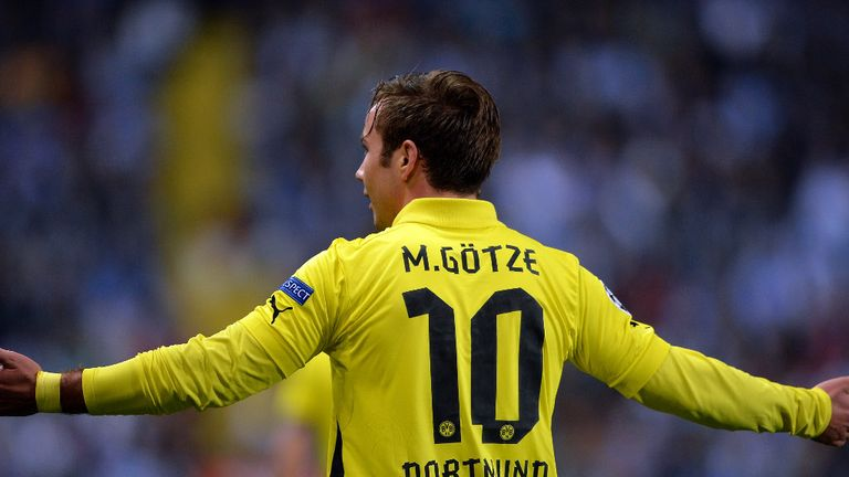 Mario Gotze: Turning his back on Borussia Dortmund